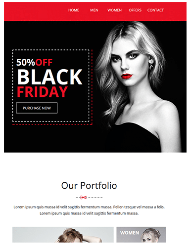 Email Marketin Black Friday